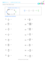 13 – Simplifying Fractions