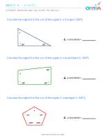 24 – Estimate, Measure & Calculate the Angle 2