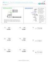 5 – Decimals 5 (x)